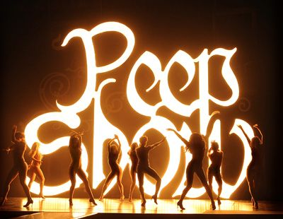 Peepshow...I was an USHER!  Lol!  I loved it though (still do) its a very empowering show for women.