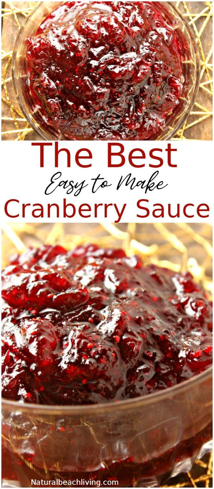 Easy Homemade Cranberry Sauce That Everyone Loves