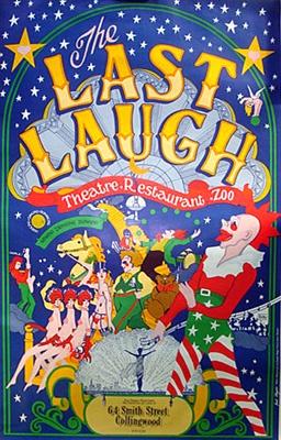 The Last Laugh Theatre Restaurant (1976)  Artist:Laurel Olszewski