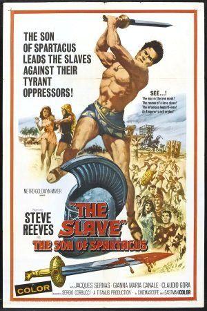 """The Slave (1962)""""Il figlio di Spartacus"""" (original title) Stars: Steve Reeves, Jacques Sernas, Gianna Maria Canale, Claudio Gora ~  Director: Sergio Corbucci"""