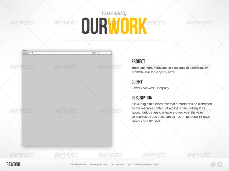 Rework Keynote Presentation Template Keynotes