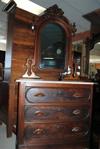 Victorian Sofas For Sale Antique Victorian Burl Walnut Marble Top Dresser Chest