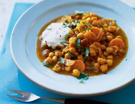 Chickpea Tagine with Cinnamon, Cumin, and Carrots | Vegetarian Times