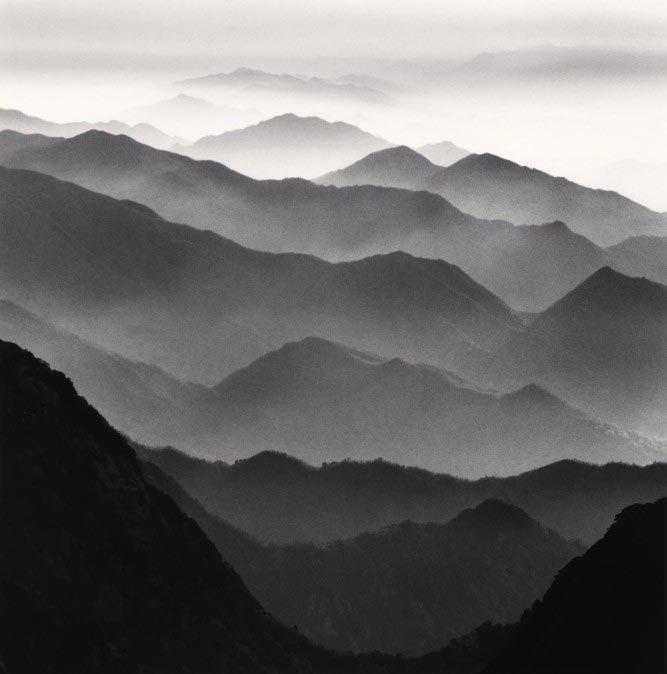Michael Kenna, Huangshan Mountains