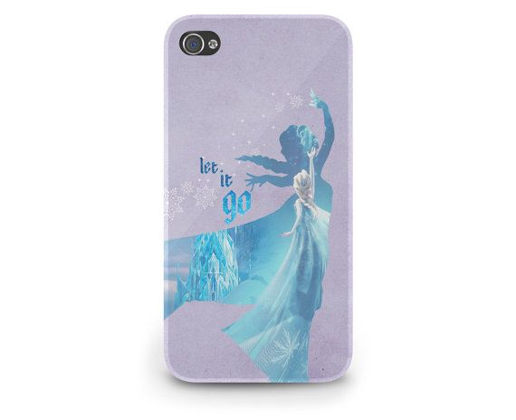 Elsa Quote Frozen Disney Princess - Hard Cover Case iPhone 5 4 4S 3 3GS HTC Samsung Galaxy Motorola Droid Blackberry LG Sony Xperia & more on Etsy, $22.99