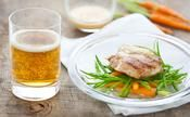 Grenadins de veau au cidre et aux baies roses - une recette Viande - Cuisine