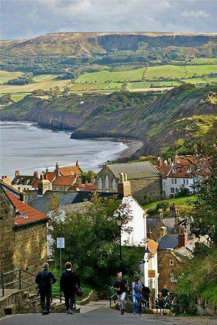 Robin Hood's Bay, North England, UK