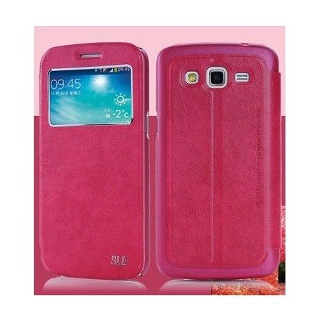 Samsung Galaxy S5 Case SULADA Smart Leather Case Window Series termurah hanya di Gudang Gadget Murah. SULADA Smart Leather Case Window Samsung Galaxy S5 - Red