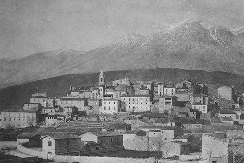 Abruzzo Magliano de Marsi and Monte Velino, 1896.   #TuscanyAgriturismoGiratola