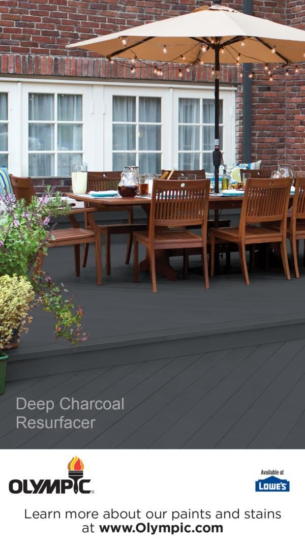 Deck Stain Colors For Gray House
