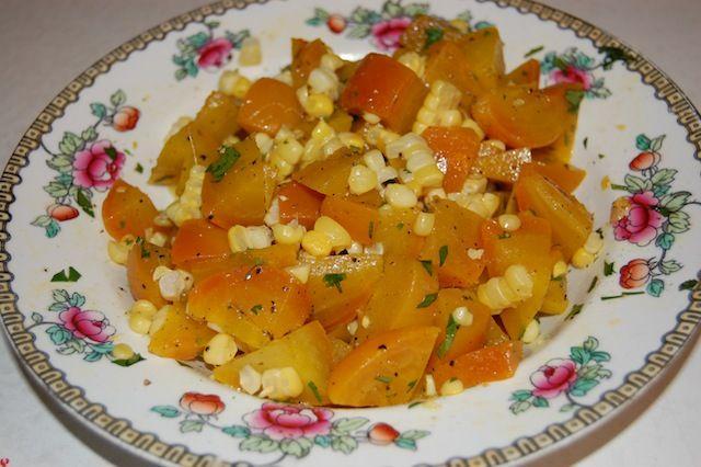 Golden Beet & Corn Salad | Salads & Dressings | Pinterest