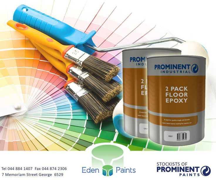 Get your #Prominent 2 pack floor epoxy at #EdenPaints for only R27.00! It has low VOC, is water resistant and has good adhesion. E&OE. #specials