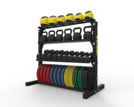 Where do you store your workout equipment?