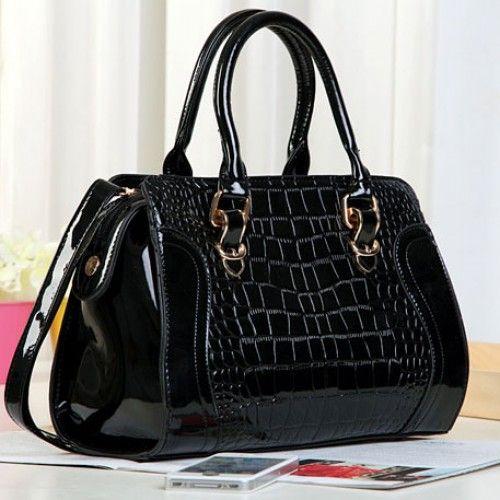 Fashion Elegant Croco Hardcover Handbag & Shoulder Bag for only $29.90 ,cheap Fashion Handbags - Fashion Bags online shopping,Fashion Elegant Croco Hardcover Handbag is made of High-quality glossy and it own wonderful design.