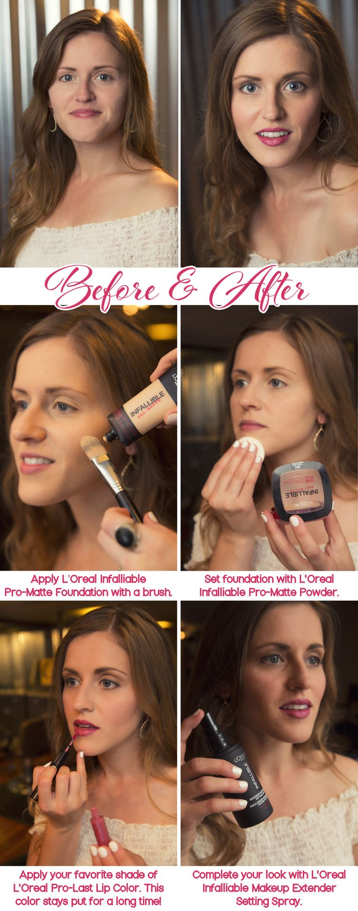 L'Oreal Makeup Tutorial