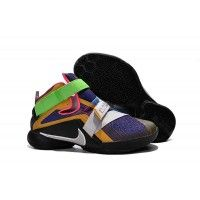 """Discount Nike LeBron Soldier 9 """"What The LeBron"""" Multi Color/Black-White Basketball Shoe"""