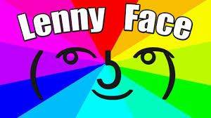 LennyFaceText.com help you can easily copy or create lenny face, text face or any unicode faces. All you need to do is just click on the face to copy and paste it wherever you want