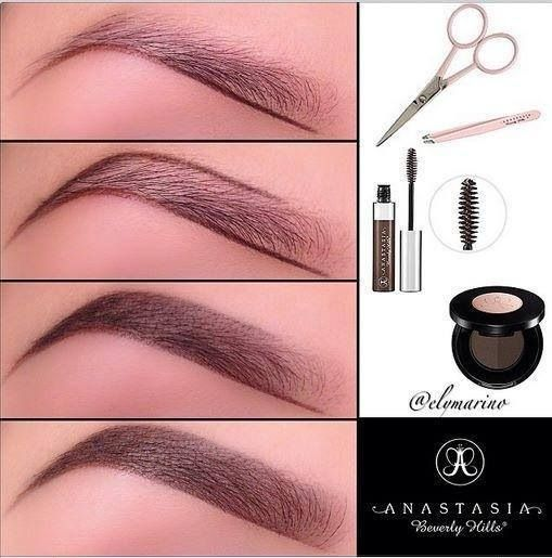 Nice step-by-step look at perfecting your brows.