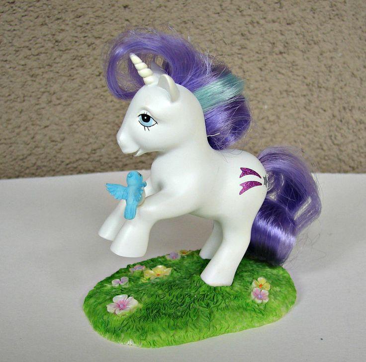 Vintage My Little Pony GLORY MINT Sculpture Hamilton Collection Original Box #TheHamiltonCollection