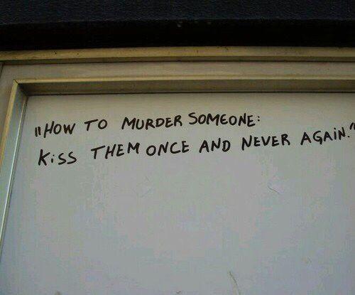 quote, kiss, and grunge Bild