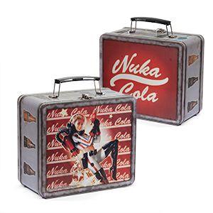 Fallout 4 Nuka World Lunchbox Replica + Sticker Pack - Exclusive | ThinkGeek