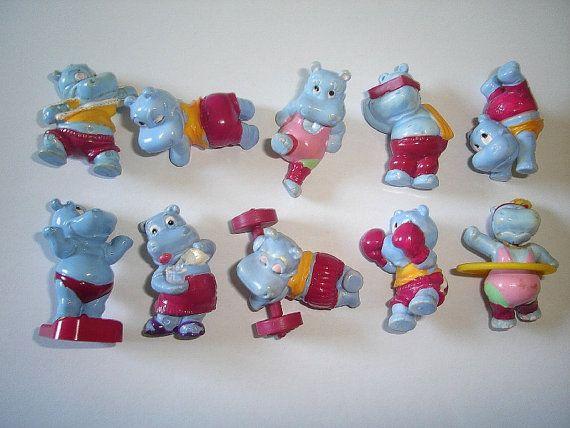 Kinder Surprise Set  Happy Hippos at the Gym by KinderSurpriseToys