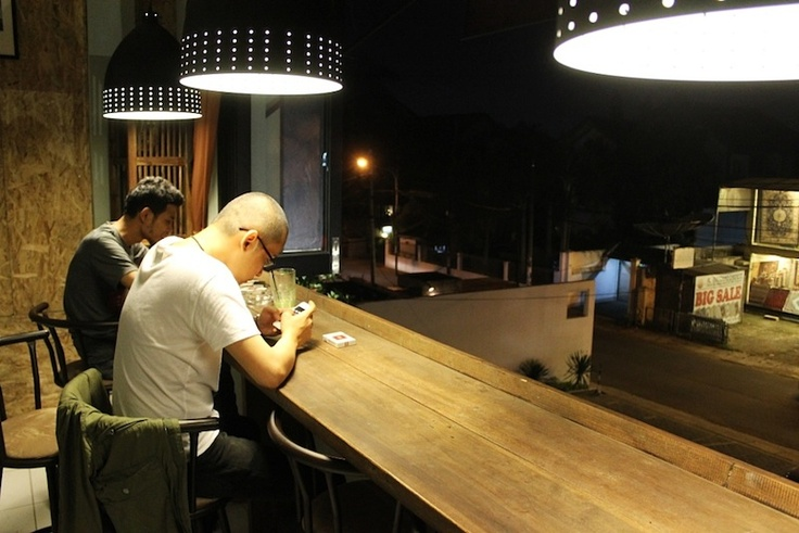 Feel Relax in Coffee Breath Cafe Kemang.