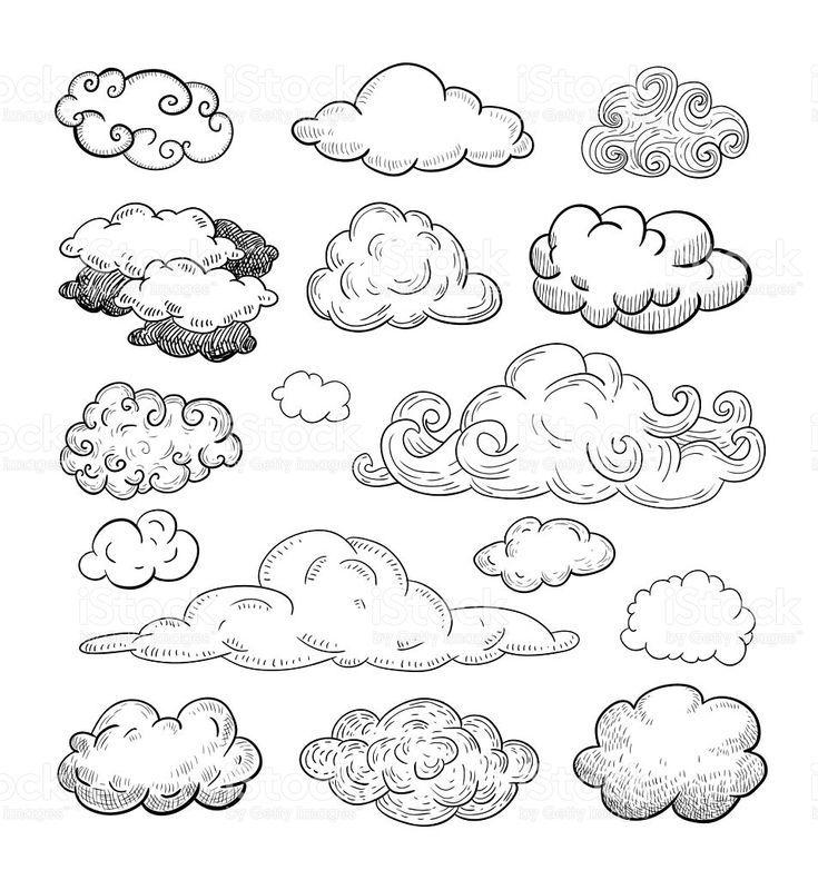 Risultati immagini per clouds illustration