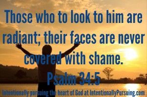 Verse of the Week - Psalm 34:5