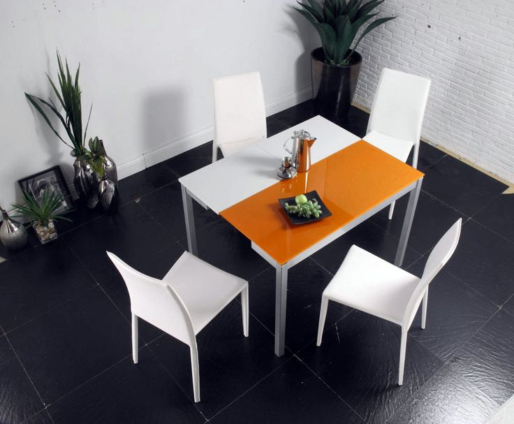 dining room sets orlando. dining sets: orlando white and orange set (table 4 chairs) - creative furniture room sets o
