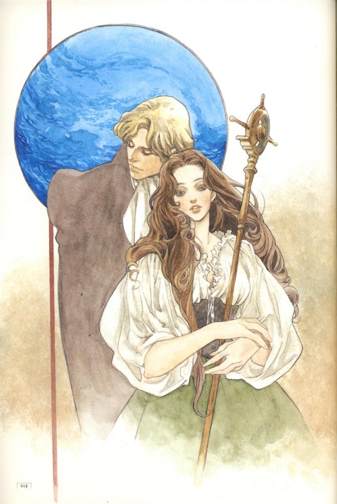Art by Natsuki Sumeragi 皇名月