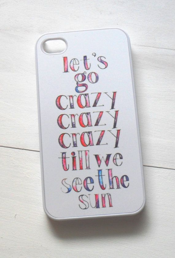 Lyrics Case - Perfect for that Live While We're Young and One Direction Fans on Etsy, $15.00