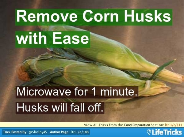 Remove Corn Husks with Ease