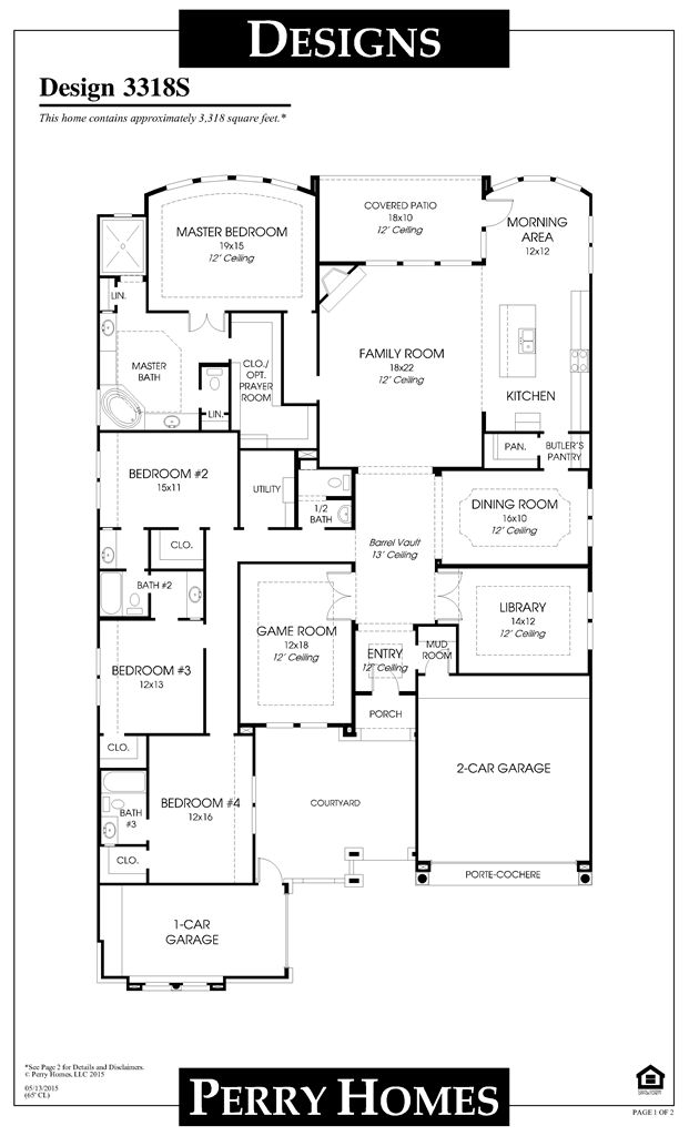 images about USA House Plans on Pinterest   House plans    View Details of the Perry Home you are interested in