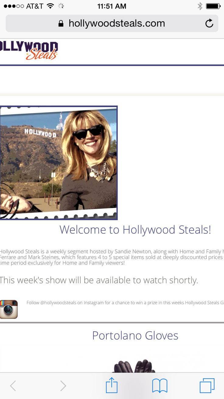 Hollywood steals home and family - Deals
