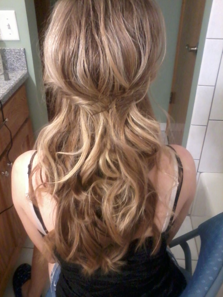 Dirty Blonde with soft curls | Blonde Hair | Pinterest