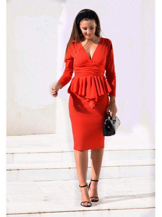 a2781914e9e vestido rojo