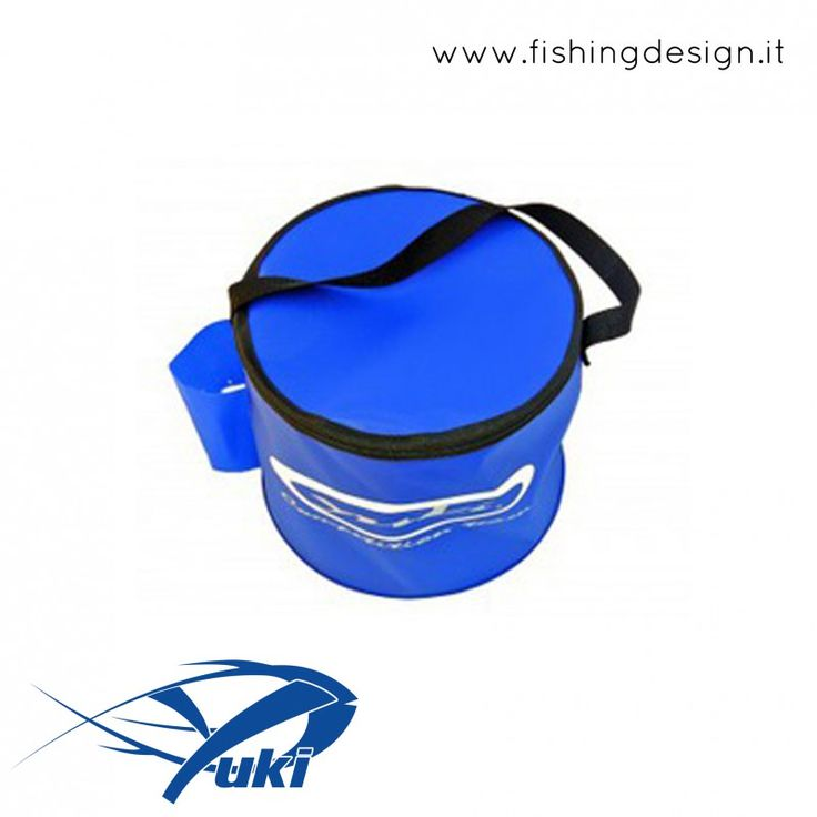SECCHIELLO RICHIUDIBILE CON PORTA-OSSIGENATORE - YUKI COMPETICION - FISHING DESIGN SHOP
