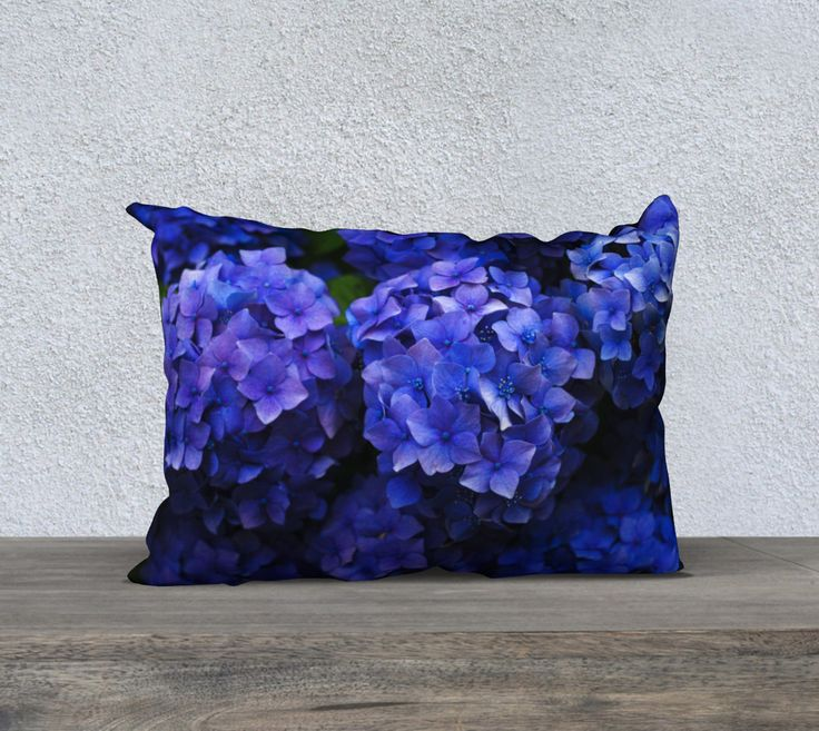 "20""+x+14""+pillow+""Hortensia""+by+Mixed+Imagery"