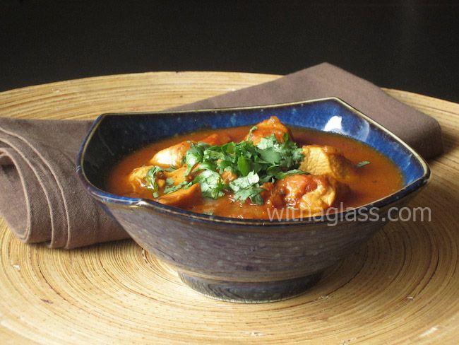 Murgh Masala (Chicken in Tomato and Onion Sauce)