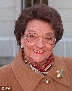 Betty Driver who played the barmaid in Coronation Street for 42yrs who died today. Thanks for all the laughs Betty, rest in peace.
