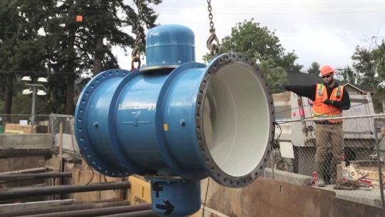 EUA Utilizam Energia dos Escoamentos em Tubagens de Redes de Abastecimento de Água Para Gerar Eletricidade