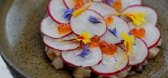 Tom Kitchin's Mackerel and Radish Salad