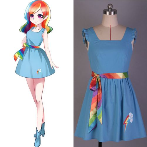 My #little pony: friendship is magic #rainbow dash dress uniform cosplay #costume,  View more on the LINK: http://www.zeppy.io/product/gb/2/272512158361/
