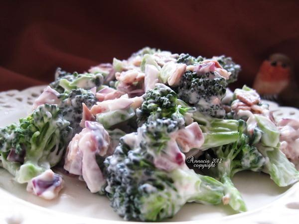 diabetic friendly broccoli salad...yum