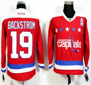 bb7eb9d77 ruNHL-Jerseys. Washington CapitalsButNhl ... Reebok Washington Capitals 19  Mens Nicklas Backstrom Premier Black Ice NHL ...