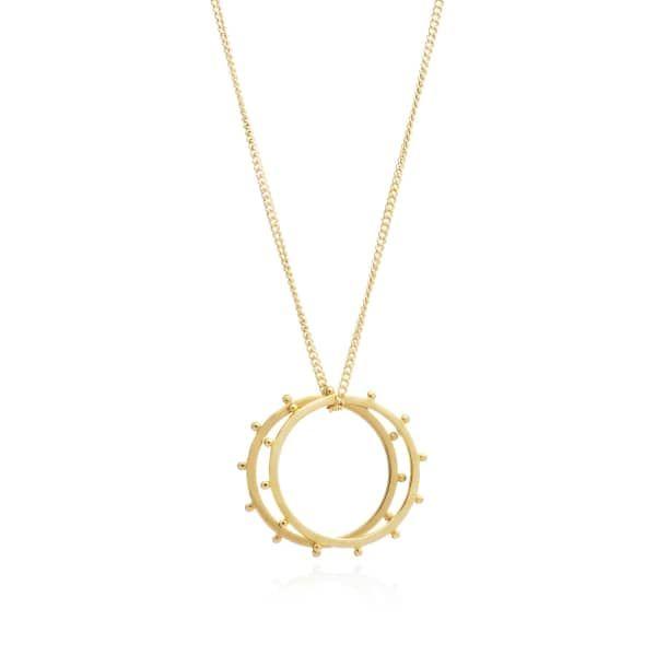 Rachel Jackson Woman Lunar Moon Gold-plated Earrings Gold Size Rachel Jackson London banmIQ
