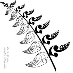New Zealand - Fern motif idea for front door side/fanlight