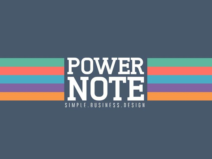 PowerNote PowerPoint Presentation by AWSM Designs on Creative Market