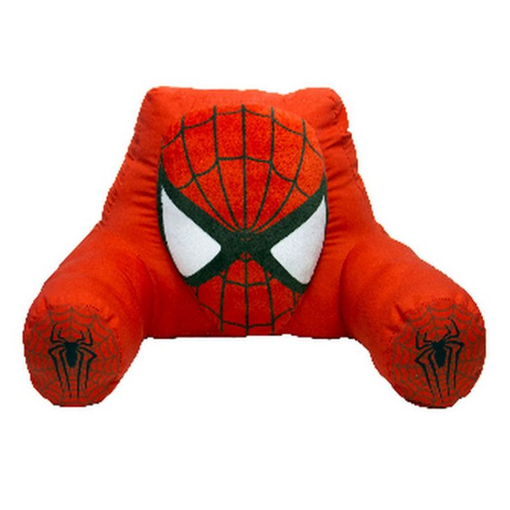 Marvel - Licensed Spider-Man Bedrest Pillow in Red